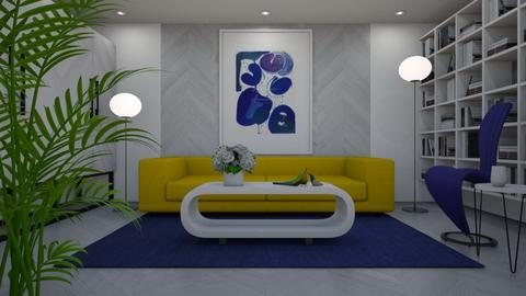 Chevron - Eclectic - Living room  - by Theadora