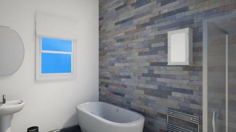 Modern bathroom. - Bathroom - by percy8