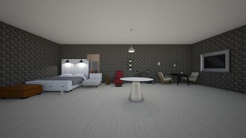 ROOM1 - Bedroom  - by Zee_Queen