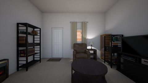 Compact Apartment - Living room  - by mspence03