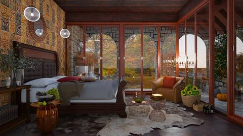 Autumn in my bedroom  - Eclectic - Bedroom  - by Ida Dzanovic