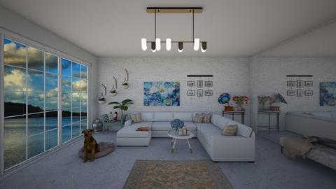 ocean - Living room  - by cemre61
