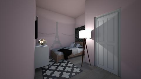 Cute Trendy Room After - Kids room - by AleksandraMayI