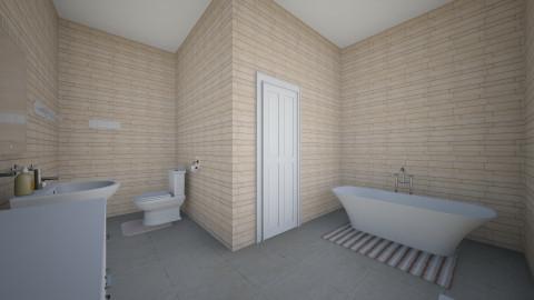 Mums bathroom - Minimal - Bathroom  - by clare299