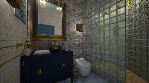 Cherrat Bath 1 - Bathroom - by Hanane Haidoune