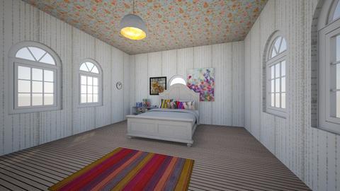 rainbow bedroom - Bedroom  - by noadesign