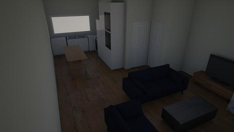 huiskamer en keuken - Kitchen  - by mauricevanegmond