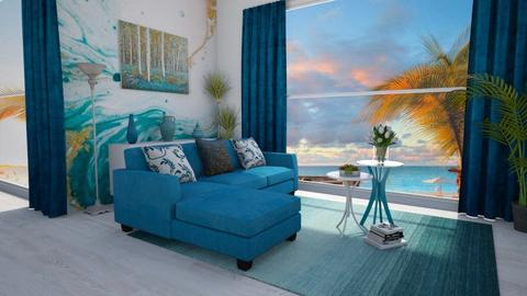 Minimalist Living - Living room  - by nkanyezi
