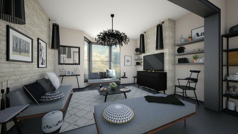 Putty - Minimal - Living room  - by camilla_saurus