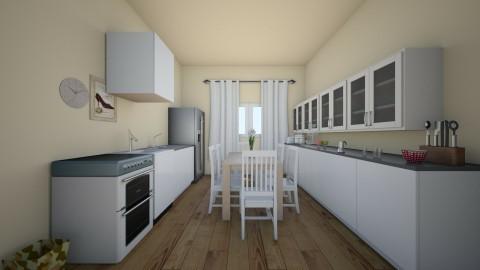Beige  - Minimal - Kitchen  - by akopec2003