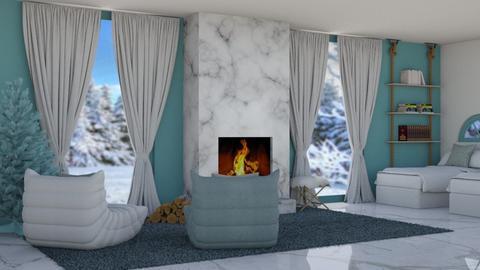 Winter Twins - Bedroom  - by KittyKat28