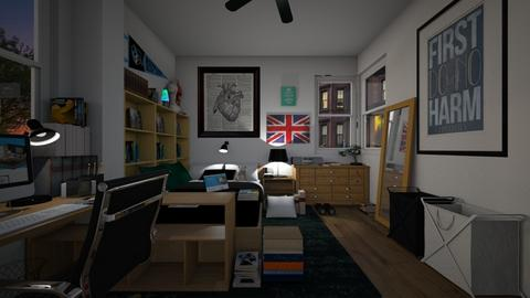 Med School Apartment Bdrm - Bedroom  - by SammyJPili