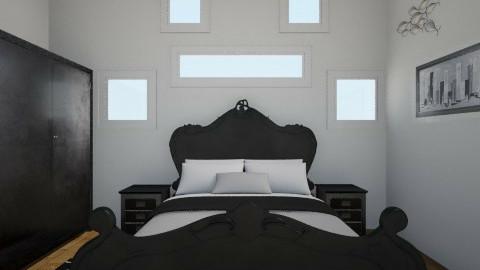 Bedroom funny windows - Bedroom - by Pinkypurple