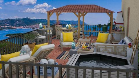 rooftop terrace td 2 - by Teri Dawn