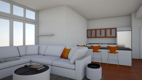 Danica Apartment LR Ande3 - Living room  - by J Designs Space