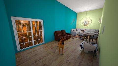 Tiny house contest - Minimal - Living room  - by waffledoghaha