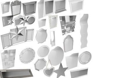 white mirrors  - by RAWAN UNICORN