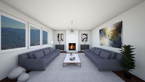 DWR Nancy - Living room - by mikaelawilkins