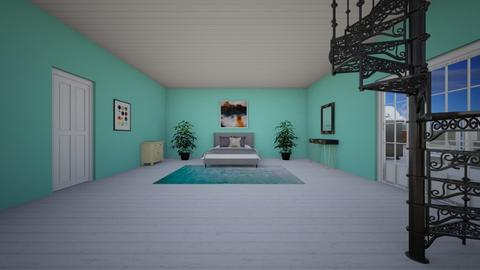 feather ocean - Modern - Bedroom - by aschaper