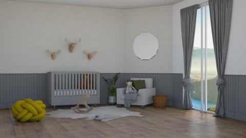 Gender Neutral Nursery - by DuckwithBoots