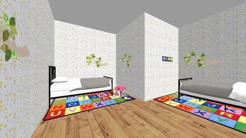 Kids room for two girls - Modern - Kids room  - by ellarose1108