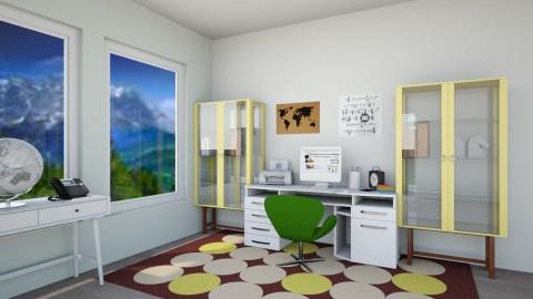 Modern Home Office - Modern - Office  - by millerfam