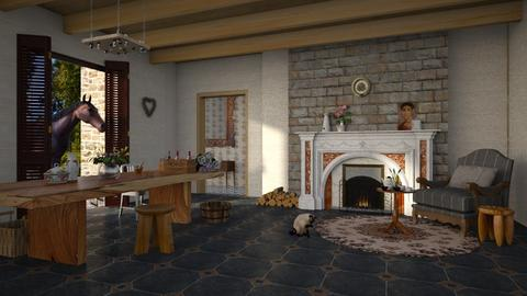 Fairy Tale Interior - Country - Dining room  - by tolo13lolo