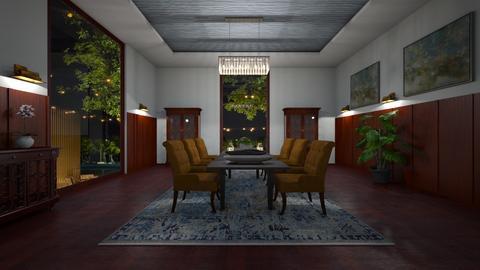 Chandelier - Living room  - by ashpashly
