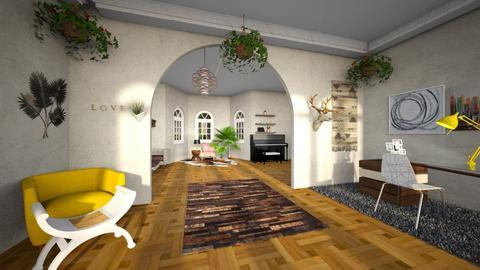 Okeefe - Modern - Living room  - by cfowle9094