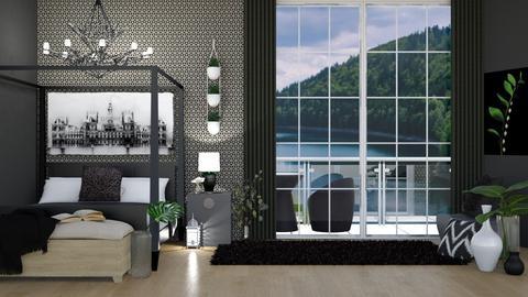 30thDesign - Bedroom  - by LaylaaaarrrJF