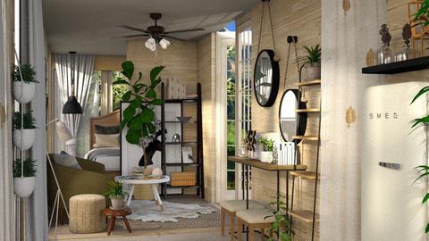 cozy container - Living room  - by martillaga