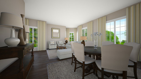 linda casa - Living room - by Joseph Espinoza