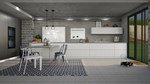 Simplicity updated - Kitchen  - by meggle