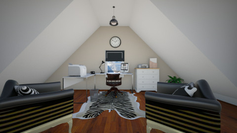 Home office - Office  - by janelle1