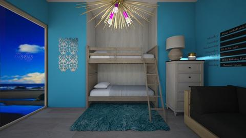 Blue Room Contest - Rustic - Bedroom  - by Itsavannah