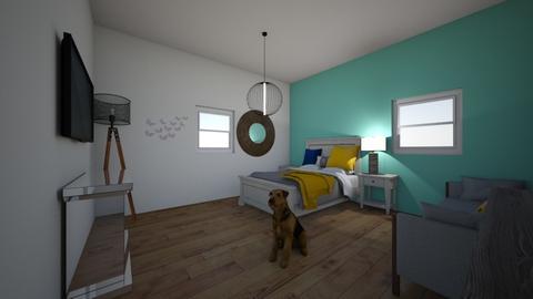 camera mea - Bedroom  - by Mihnea2004