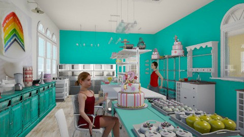 Cupcakes Pardise kitchen - Vintage - by ericeira