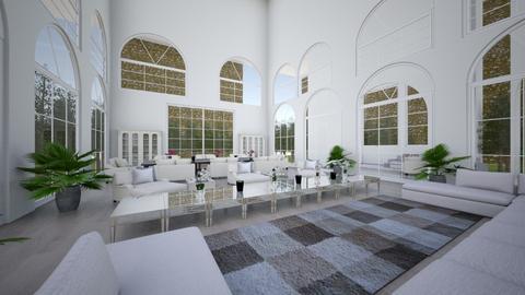 Pool House - Glamour - Living room  - by jarellano89