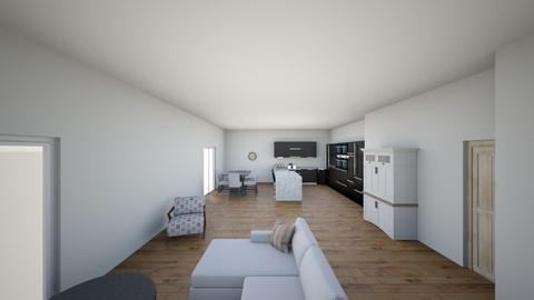 open family kitchen  - Kitchen  - by estevenson89