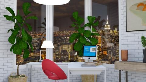 nyc office - by Jana Nedeljkovic