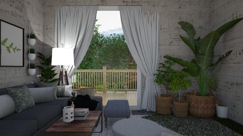 green window - Classic - Living room  - by monek299