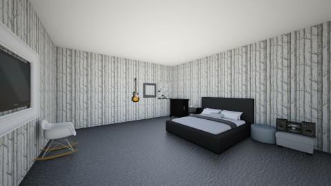 How I Wish My Room Looked - Retro - Bedroom  - by bethany210