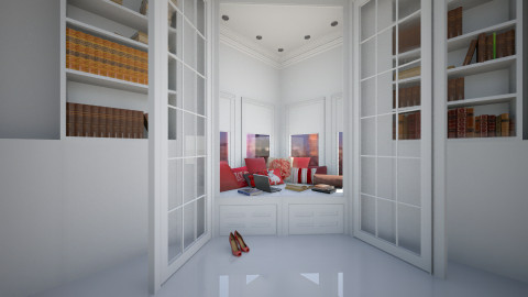 Book Nook  - Modern - by facundo