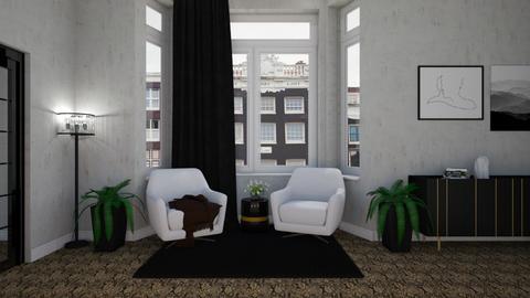 NYC Apartment - Modern - Living room  - by francinekhiara