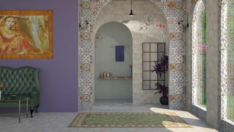 Marais - Feminine - Bathroom - by Sara alwhatever