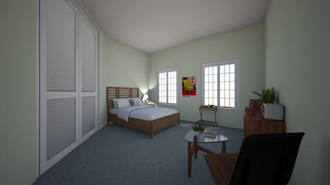 VintageStyleRmGreenDarkSm - Glamour - Bedroom  - by jade1111