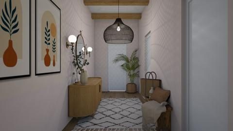 Welcoming Hallway - by ferne mcalpin