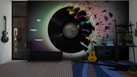 music studio - Eclectic - by Daisydesigner