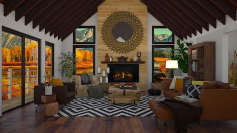 Woods - Living room - by ziagray