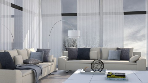 Liminal Grey - Modern - Living room - by Musicman